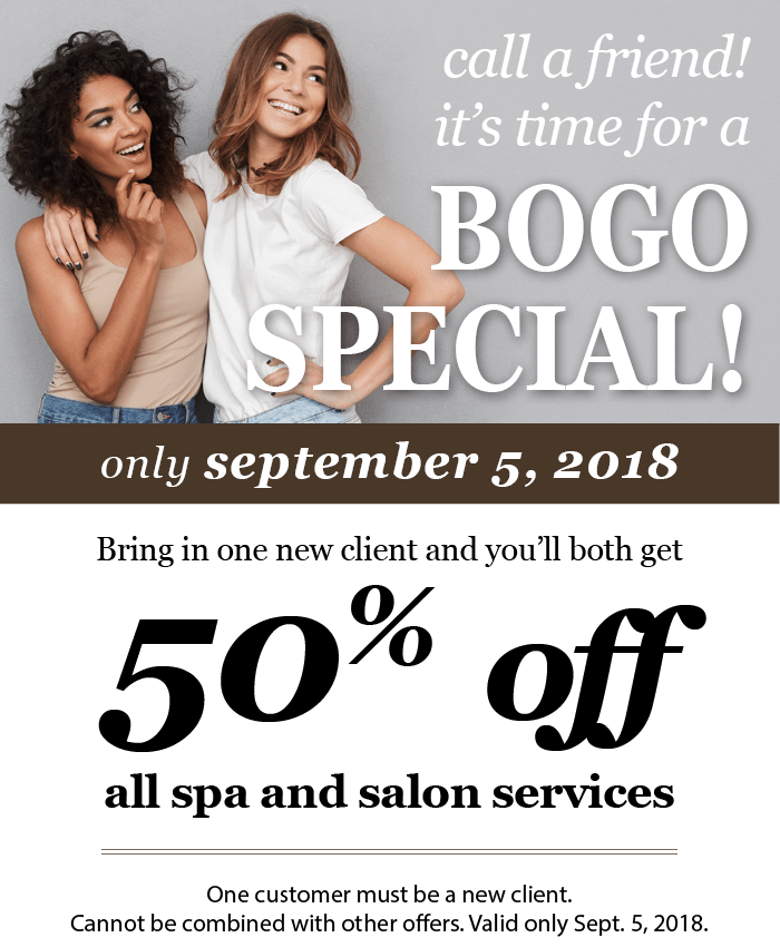 BOGO September 2018 | Daired's Salon & Spa Pangea