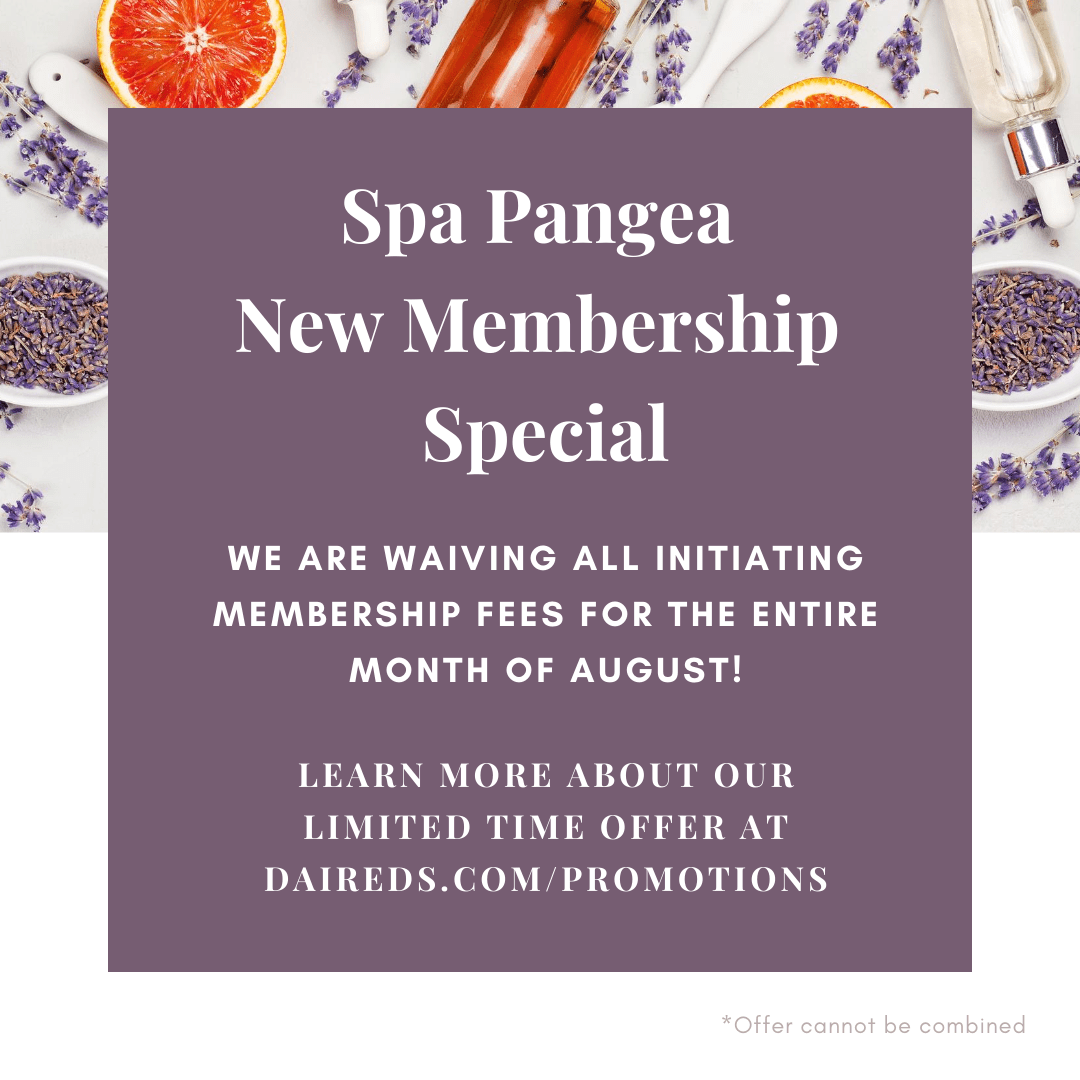New Spa Members who enroll during the month of August will have their initiating fees waived.